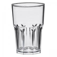 Verre transparent incassable granité 400ml (x5) REF/52763