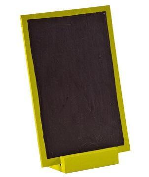 Grande ardoise verte 10cm x 15cm (x1) REF/3348