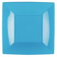 Grande assiette bleu turquoise incassable 29cm (x8) REF/58056