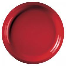 Grande assiette incassable rouge 29cm (x10) REF/52756