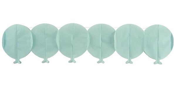 Guirlande ballon bleu