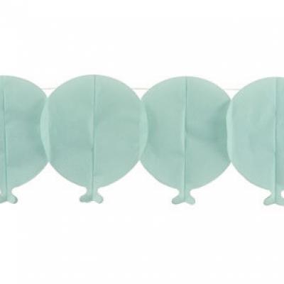 Guirlande ballon bleu (x1) REF/20124