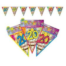 Guirlande fanion anniversaire: 20ans (x1) REF/GF03