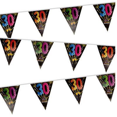 Guirlande fanion anniversaire 30ans (x1) REF/AA2006CH/30