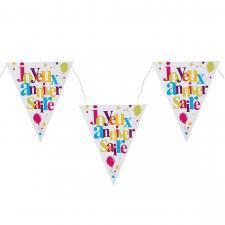 Banderole joyeux anniversaire festif (x1) REF/4877