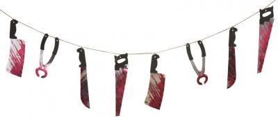 Guirlande armes sanglantes (x1) REF/10631