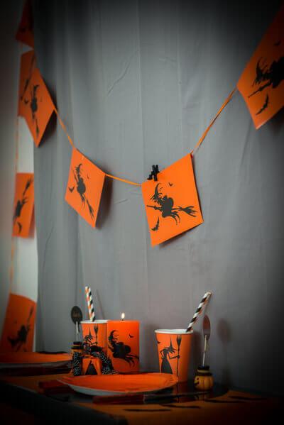 Guirlande sorciere halloween 3