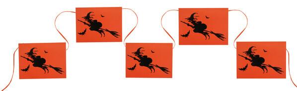 Guirlande sorciere halloween