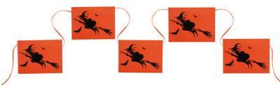 Banderole sorcière d'Halloween (x1) REF/4234