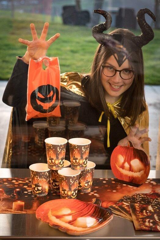 Halloween citrouilles et lanternes gobelet carton