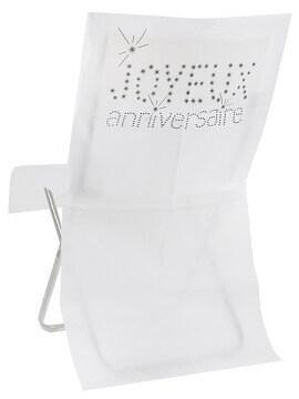 Housse de chaise joyeux anniversaire (x6) REF/4539