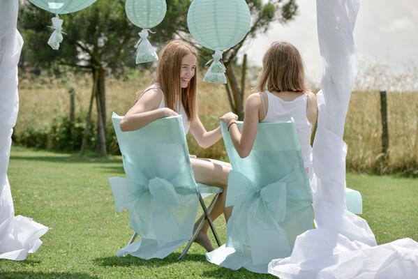 Housse de chaise pour mariage elegant