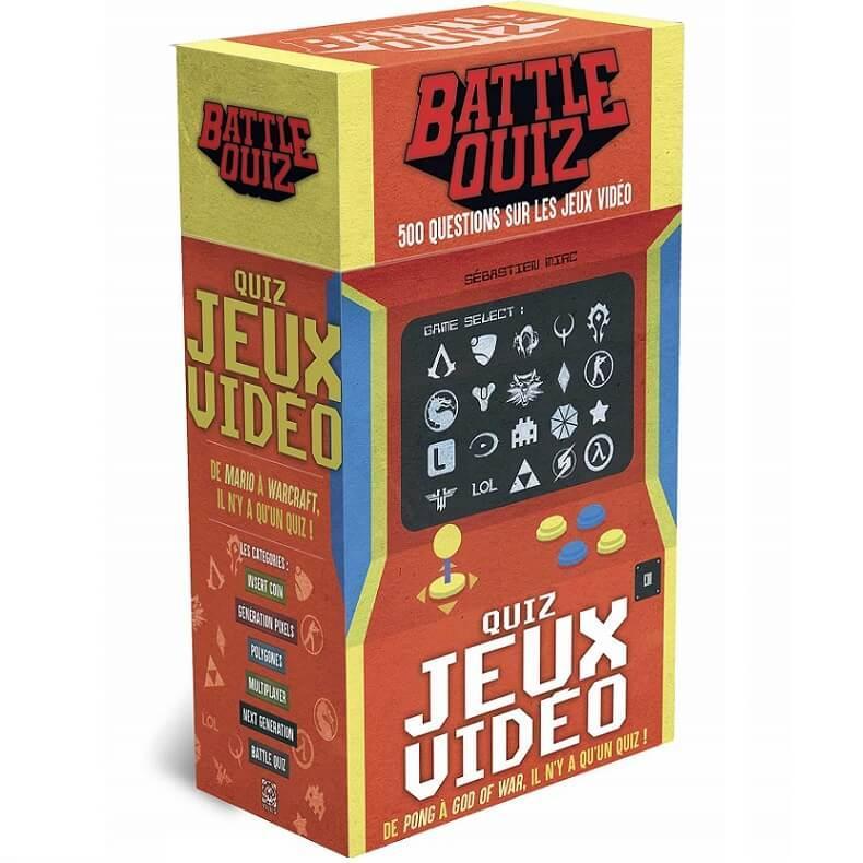 Jeu battle quiz jeux videos