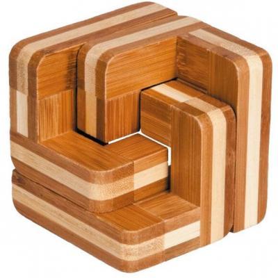 Jeu casse-tête Fridolin Bambou escalier en bois (x1) REF/FDBES