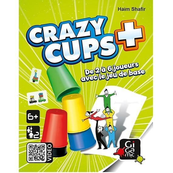 Jeu d ambiance crazy cup plus