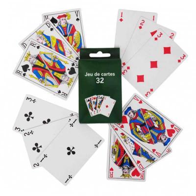Jeu traditionnel de 32 cartes (x1) REF/JC7132