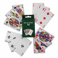 Jeu intemporel de 54 cartes (x1) REF/JC7154