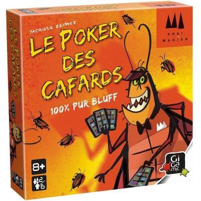 Jeu de cartes Poker des cafards (x1) REF/DRKPOK