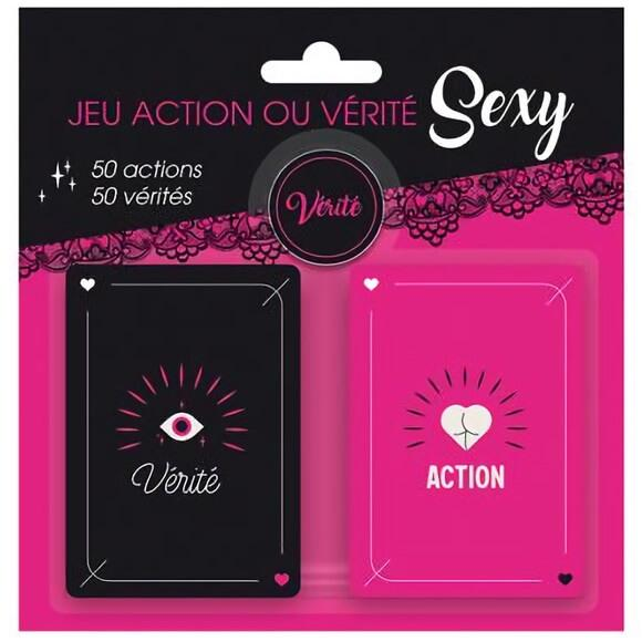 Jeu de carte action ou verite