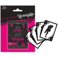 Cadeau de fête adulte avec 54 cartes du jeu Kamasutra (x1) REF/SEXR018