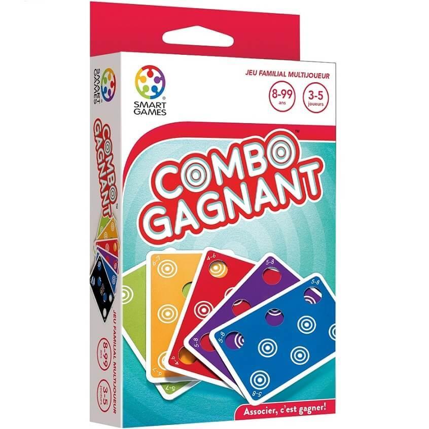 Jeu de cartes combo gagant smartgames