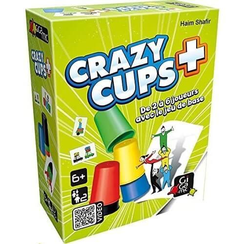 Jeu de cartes crazy cup plus