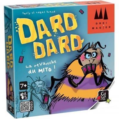 Jeu de bluff et de cartes Dard-Dard (x1) REF/DRDAR