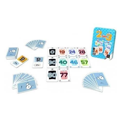 Jeu de cartes gigamic 2 sans 3