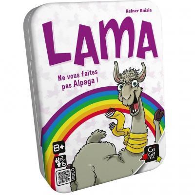 Jeu de cartes Lama (x1) REF/AMLAMA