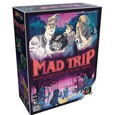Jeu de société et de cartes Mad Trip (x1) REF/GFMA