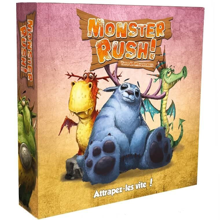 Jeu de cartes monster rush