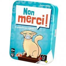 Jeu de cartes non merci (x1) REF/AMNON