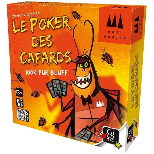 Jeu de cartes poker des cafards