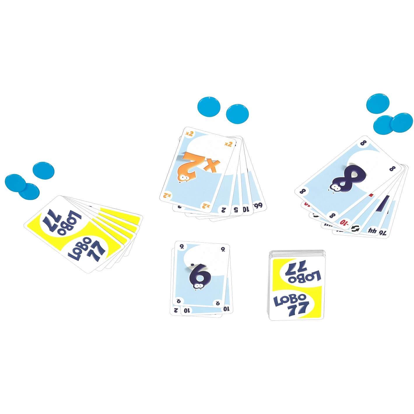 Jeu de cartes pour enfants lobo 77