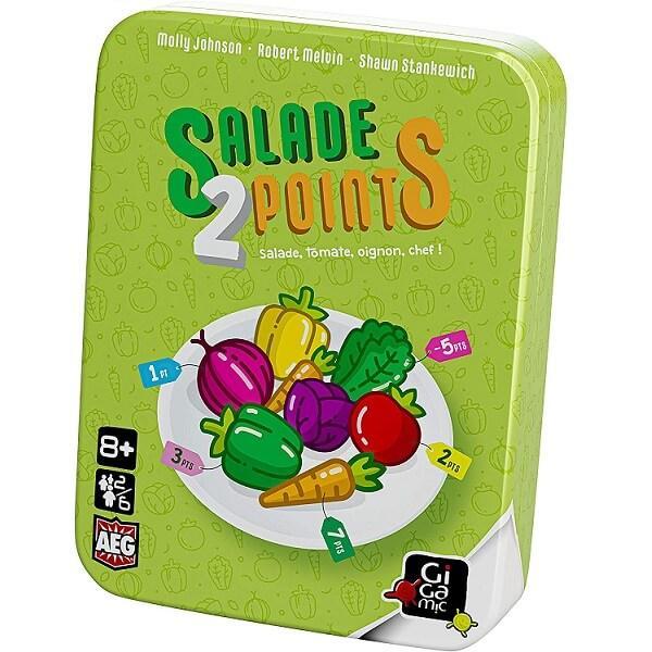 Jeu de cartes pour enfants salade 2 points