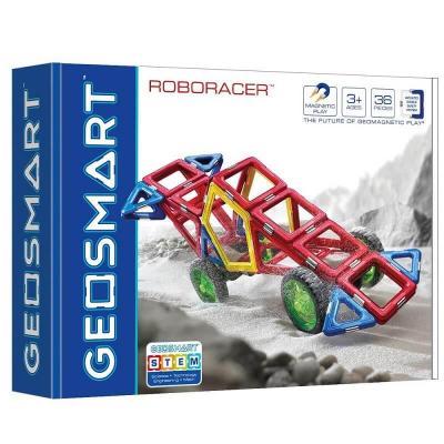 Jeu de construction magnétique Géosmart: voiture de course (x1) REF/GEO 216