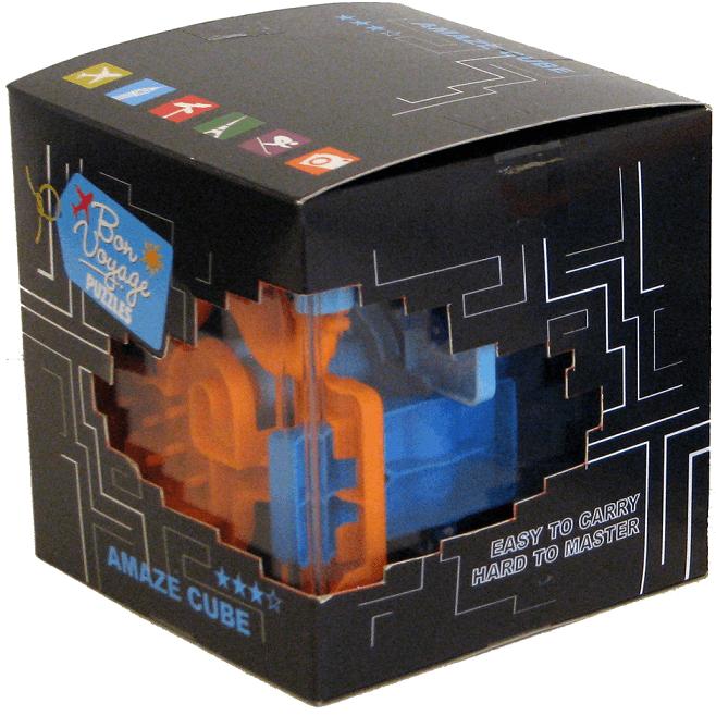Jeu de labyrinthe gigamic eureka 3d amaze cube