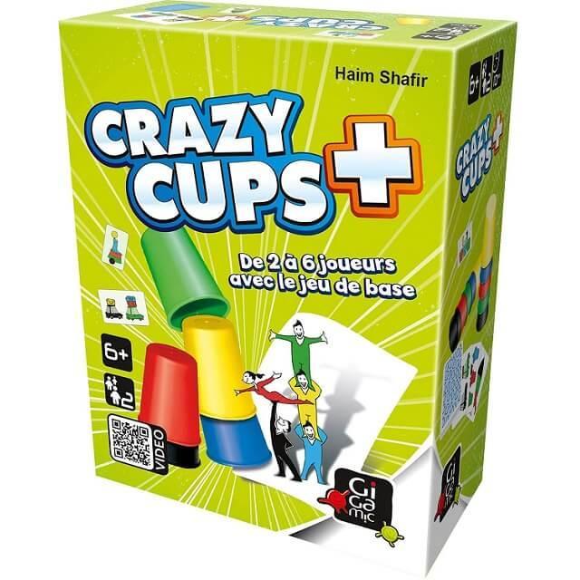 Jeu de rapidite crazy cup plus