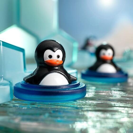 Jeu de reflexion pour enfant les pingouins plongeurs