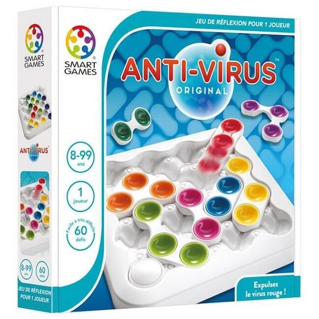 Jeu de reflexion pour enfants anti virus