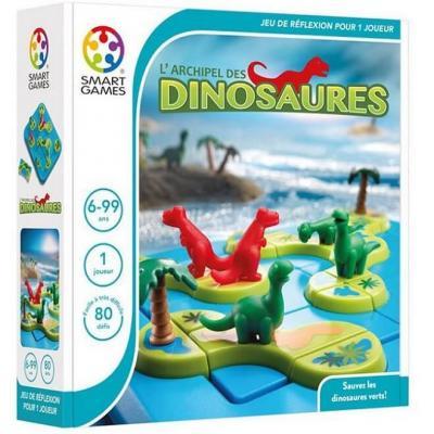 Jeu de réflexion pour enfants: l'Archipel des Dinosaures (x1) REF/SG 282 FR