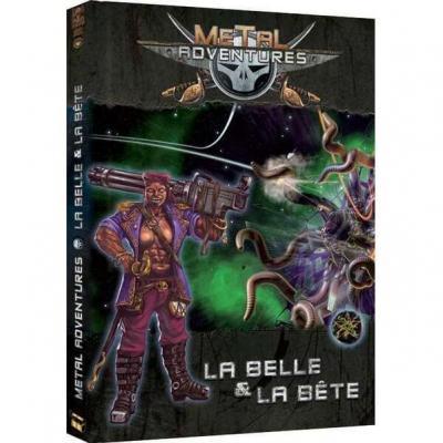 Jeu de rôle en livre: Metal Adventure, la belle et la bête (x1) REF/OPMABB