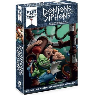Jeu de société avec ambiance: Donjons et Siphons (x1) REF/BRDON