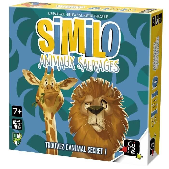 Jeu de societe avec cartes similo animaux sauvages