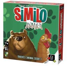 Jeu de société avec cartes: Similo animaux (x1) REF/HSAN