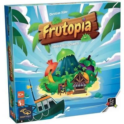 Jeu de société avec plateau et stratégie: Frutopia REF/JDFR