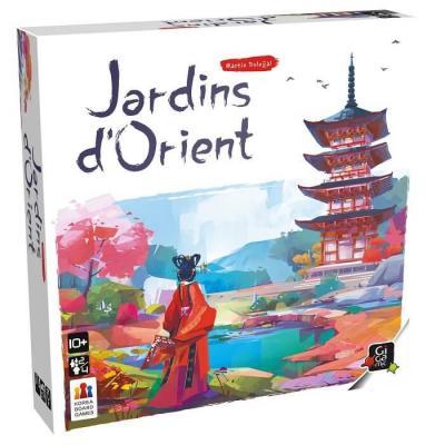 Jeu de société Jardins d'Orient avec stratégie (x1) REF/JKJA