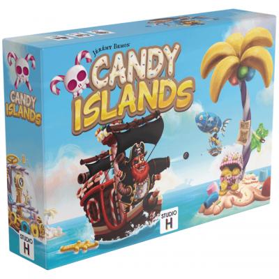Jeu de société avec bluff: Candy Islands (x1) REF/STCAN