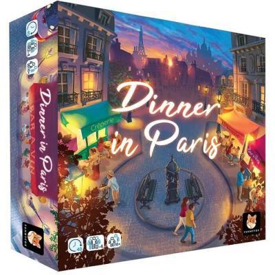 Jeu de société avec stratégie: Dinner in Paris (x1) REF/FUDIN