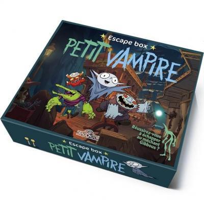 Jeu de société enfant Escape Box: Petit Vampire REF/404ED1307